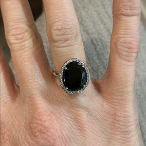 Pandora Ring Glamorous Legacy Black Stone